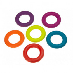 Legetøj ring gummi 15cm